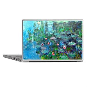Monet - Water Lilies 1914 v2 Laptop Skins