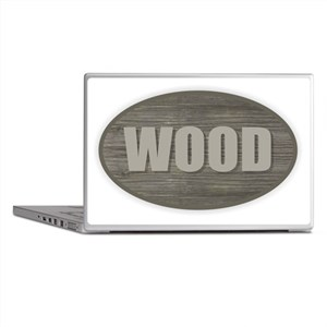 Wood Laptop Skins