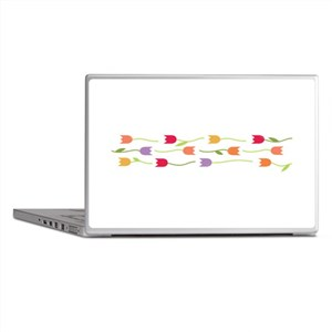 Tulip Border Laptop Skins