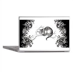Cheshire Cat Swirls Laptop Skins