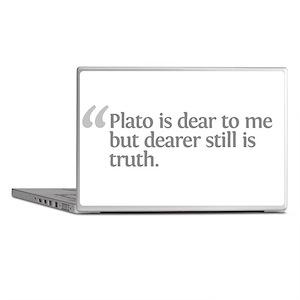 Aristotle Plato is dear Laptop Skins
