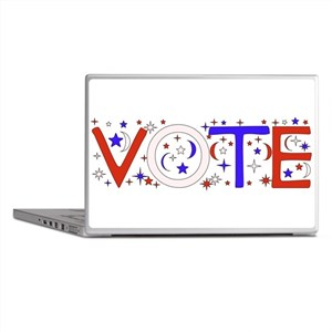 Get Out The Vote 2008 Laptop Skins