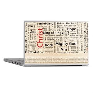 100 names of Jesus American Spelling  Laptop Skins