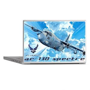 Air Force AC-130 Spectre Laptop Skins