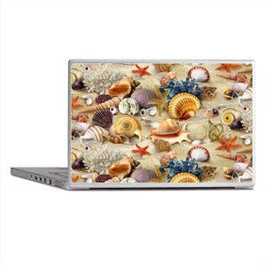 Sea Shells Laptop Skins