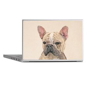 French Bulldog (Sable) Laptop Skins