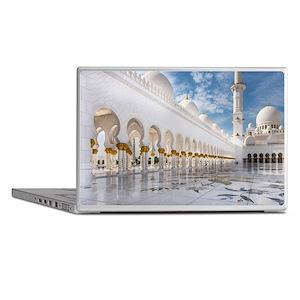 Sheikh Zayed Mosque Laptop Skins