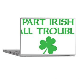 part irish all trouble Laptop Skins