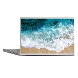 Water Beach Laptop Skins
