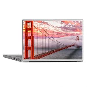 Golden Gate Bridge Laptop Skins