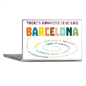 There's nowhere else like Barcelona Laptop Skins