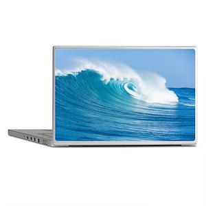Blue Wave Laptop Skins