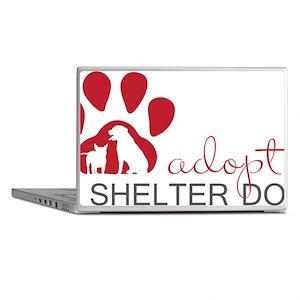 Adopt a Shelter Dog Laptop Skins