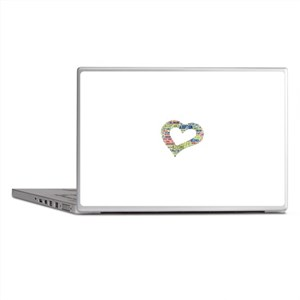 heart fulfilled Laptop Skins