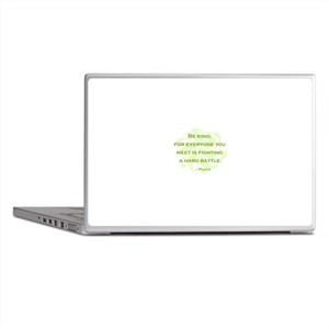 Plato Quote: Be Kind -- Laptop Skins