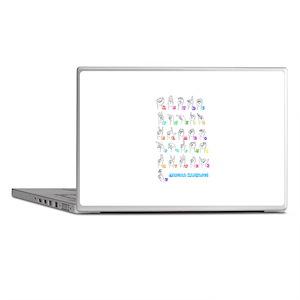 Manual Alphbet Laptop Skins