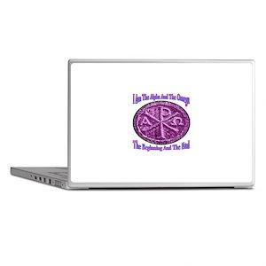Chi Rho Alpha Omega Laptop Skins