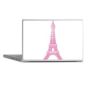 Pink Eiffel Tower Laptop Skins