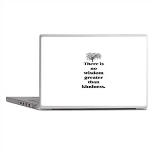 WISDOM GREATER THAN KINDNESS (TREE) Laptop Skins