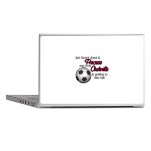 Princess can't get to the ball Laptop Skins