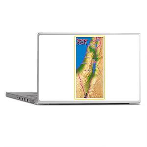 Israel Map Palestine Landscape Border Laptop Skins