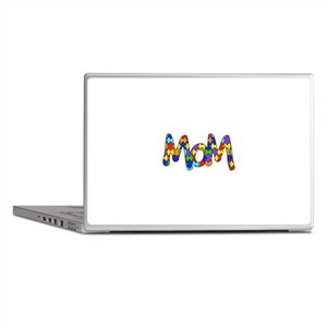 Mom Autism Awareness Laptop Skins