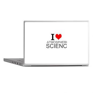 I Love Atmospheric Science Laptop Skins