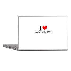 I Love Acupuncture Laptop Skins