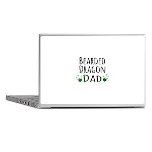 Bearded Dragon Dad Laptop Skins