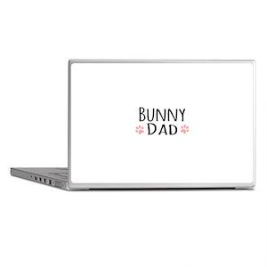 Bunny Dad Laptop Skins