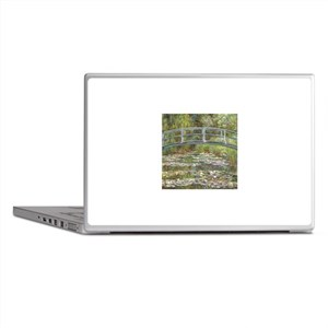 Monet Bridge over Water Lilies Laptop Skins