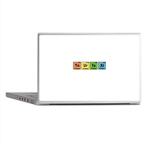 Personalized Your Text Periodic Table Laptop Skins