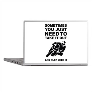 Take It Out And Play With It Laptop Skins