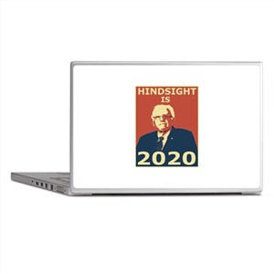 bernie sanders hindsight is 2020 Laptop Skins