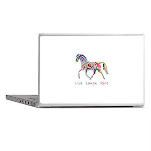 Rainbow horse gift Laptop Skins