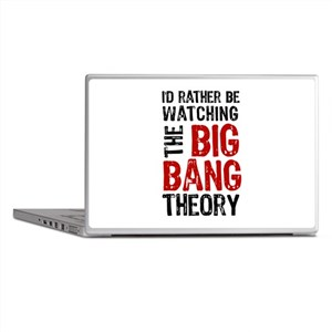 Watching Big Bang Theory 2 Laptop Skins