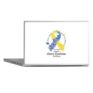DS Butterfly Ribbon Laptop Skins