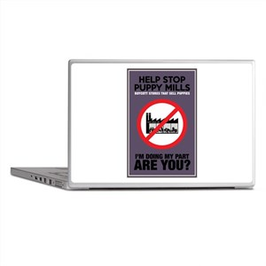 Stop Puppy Mills Laptop Skins