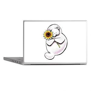 Sunny Manatee Laptop Skins
