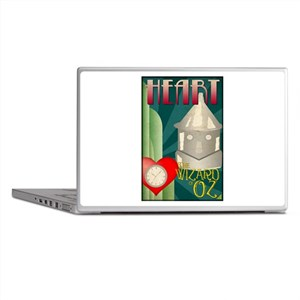 Wizard of Oz Tin Man Deco Poster Design Laptop Ski
