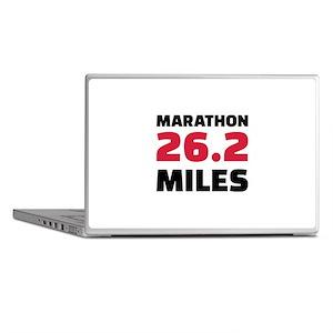 Marathon 26 miles Laptop Skins