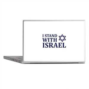 I Stand with Israel Laptop Skins