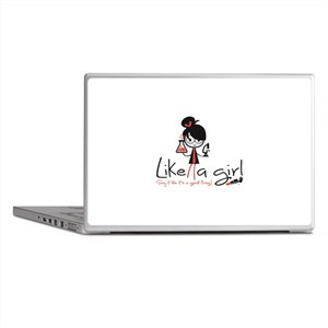 Science Like a girl! Laptop Skins
