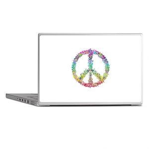Peace of Flowers Laptop Skins