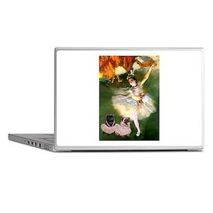 Dancer / 2 Pugs Laptop Skins