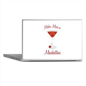 Make Mine a Manhattan Laptop Skins