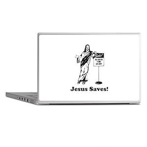 Jesus Saves! Laptop Skins