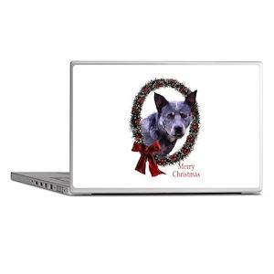 Australian Cattle Dog Christmas Laptop Skins