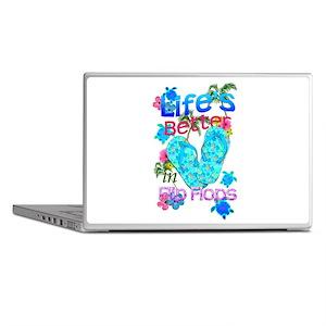 Life Is Better In Flip Flops Laptop Skins