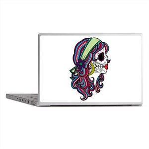 Sugar Skull 070 Laptop Skins